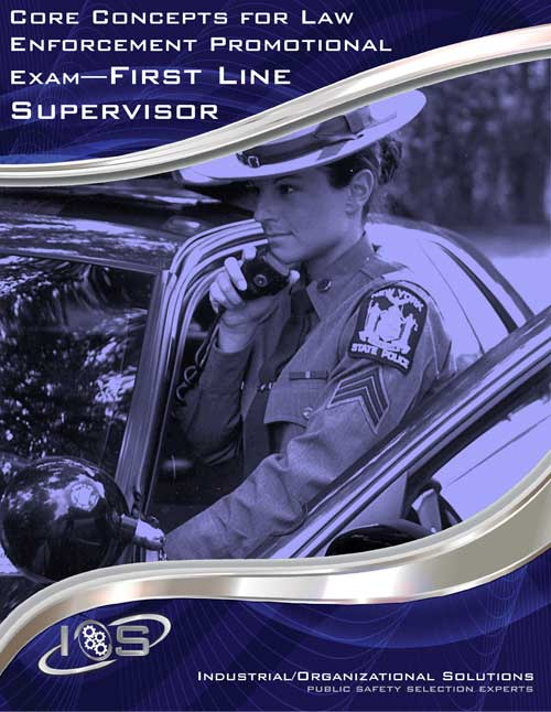 law enforcement supervisor test