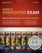 Peterson's Master the Firefighter Exam, 17th Edition – Hard Copy