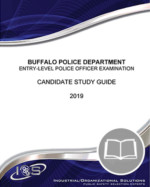 Buffalo Police Department – Entry-Level Exam Candidate Study Guide – Online