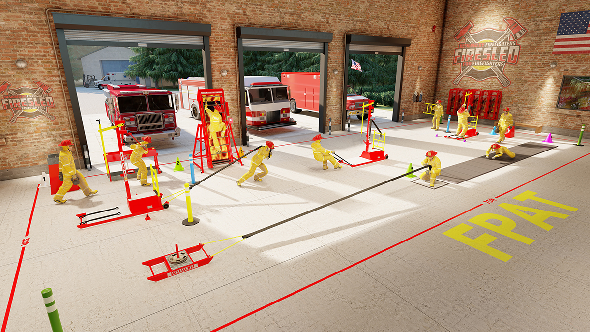 Physical Abilities Test for Firefighters